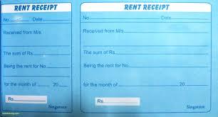 inspirational rent receipt template word best templates