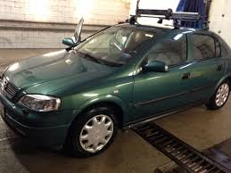 astra opel 2000 green car astra opel cars carlook