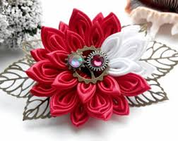 kanzashi hair clip kanzashi flower hair clip for