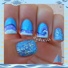 10 cute and easy nail designs ideas easy nail designs blue