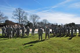 Clemson Campus Map Clemson Army Rotc Clemson Army Rotc Conducts Recon Training For
