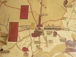 Marrakech Map World by Morocco Marrakech Sustainability In Textile Practice