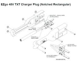 ez go golf cart battery charger troubleshooting wiring diagram