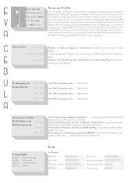 Urban Design Resume