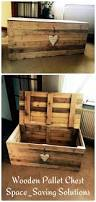wooden pallet chest space saving solutions 99 pallets