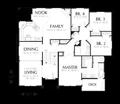 mascord house plan 1109a the gresham