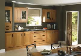 cabinet colours that go with oak kitchen cabinets kitchen