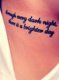 Quote Tattoos On - sides tattoologist ink and