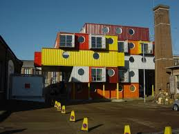 design magnificent colorful houses made from shipping containers