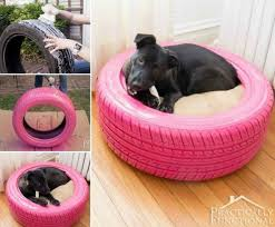 Diy Dog Bed Diy Dog Bed From A Recycled Tire Pictures Photos And Images For