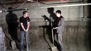 digging basement cost 2013 basement dig out part 1 youtube