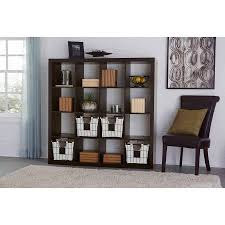 better homes and gardens bookcase better homes and gardens 16 cube storage organizer multiple colors