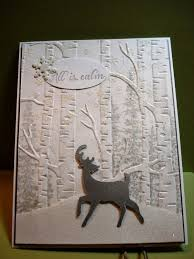 81 best su woodland emboss folder images on embossing