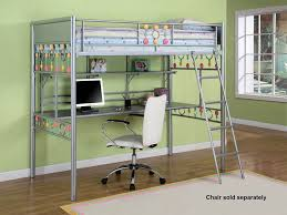 bedroom ikea loft bed with desk and closet compact medium