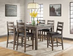 Pub Dining Room Tables by Glenwood Solid Wood Pub Dining Vh2600 Vilo Home La Furniture
