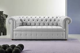 White Leather Chesterfield Sofa by Appealing Brown Modern Chesterfield Sofa Interior Design Feature