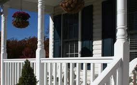 vinyl railings fencing porch columns decking profiles