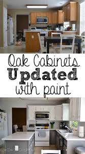Paint Kitchen Cabinets Before After Painted Kitchen Cabinets Before And After What Does She Do All Day