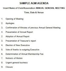 treasurer s report agm template 205 professional meeting agenda templates demplates