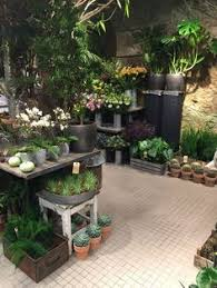 a display of terra cotta pottery at bachman u0027s garden center in