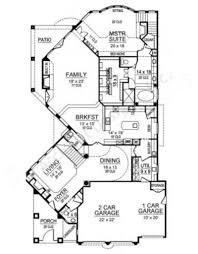 narrow house plans with garage jachin spanish house plans narrow floor plans