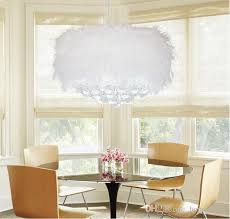 feather chandelier discount amazing feather plumage plume style with led