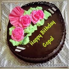 chocolate birthday cake for gopal