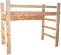 Free Twin Loft Bed Plans by Free Woodworking Plans To Build A Full Sized Low Loft Bunk The
