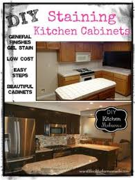 Easiest Way To Refinish Kitchen Cabinets Refinishing My Builder Grade Kitchen Cabinets Diy Diy