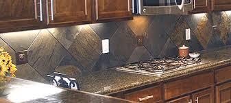slate backsplashes for kitchens create a unique and fresh kitchen with a slate backsplash the