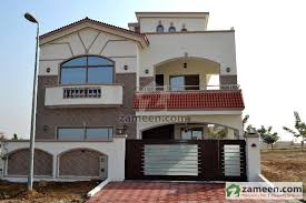 Sophisticated Bahria Town 7 Marla House Design Plan 3D