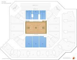 Arena Floor Plan Cfe Arena Ucf Seating Guide Rateyourseats Com