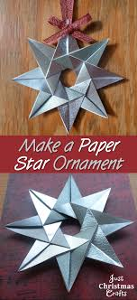 how to make a paper ornament for handmade cards