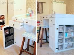 Small Craft Desk Craft Room