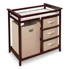 Badger Basket Baby Changing Table With Six Baskets Badger Basket Corner Changing Table Oo Tray Design Best