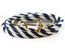 bracelet with anchor images This twisted nautical cord bracelet for less on the hunt jpg