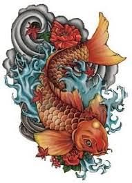 22 japanese dragon fish tattoos