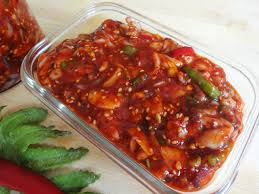 korean food photo maangchi s persimmon punch maangchi com korean cold recipes from cooking korean food with maangchi