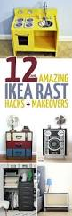 12 ikea rast hacks and makeovers moms and crafters