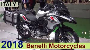 benelli motorcycle the benelli 2018 motorcycles show room italy youtube