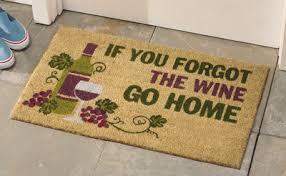 Coco Doormat Forgot Wine Coco Door Mat From Collections Etc