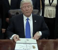 Me Me Me Signed - the internet is hilariously trolling trump s executive orders and