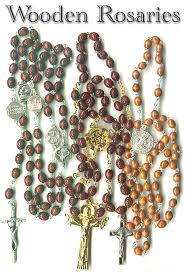 rosary from the vatican wood bead rosaries from italy italian rosary vatican