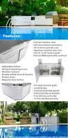 drawer plus 2 door outdoor kitchen cabinet w40052 4 life