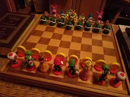 cool chess sets mario bowser chess set it u0027s really cool pictures included in
