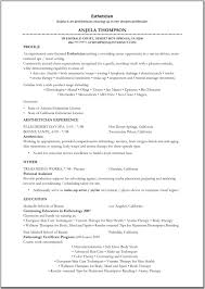 Sample Objective On Resume by Mac Makeup Artist Resume Sample Best Format Edmonton Makeup