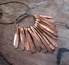 copper necklace pendant images Copper necklace charms 16pcs paddles drop sticks jewelry jpg