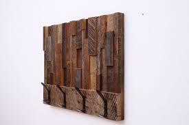 custom coat racks custommade com reclaimed wood art coat rack 24x18 5x4