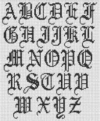 imagenes goticas letras letras goticas abecedario