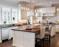 7 foot kitchen island the 17 by 23 foot kitchen s two islands afford easy traffic flow